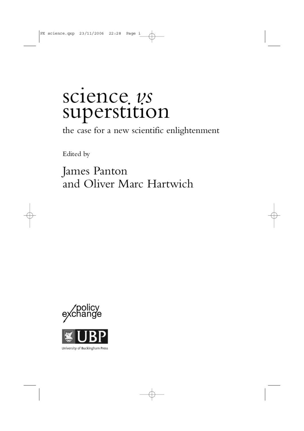 superstitions essay Superstitions - mainly tied to money - are entrenched in many culturesit's not often that a business school professor gets to quote from a l.