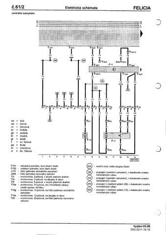 Dp Felicia Elektricka Schemata By Marty K Issuu