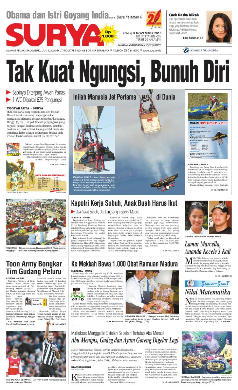 Surya Edisi Cetak 08 November 2010 By Harian Issuu Produk Ukm Bumn Sambal Bawang Goreng Maklin
