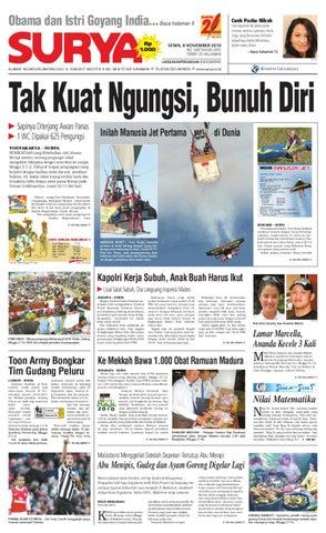 Surya Edisi Cetak 08 November 2010 by Harian SURYA - issuu 9cb0210186