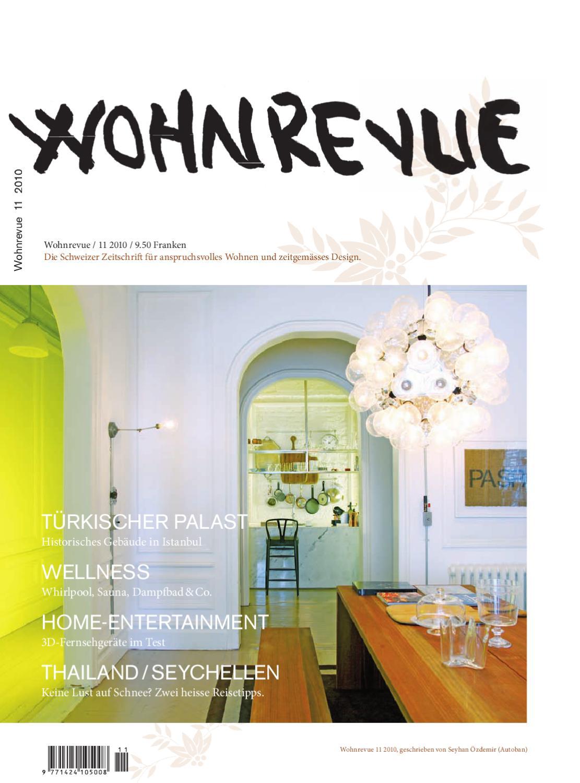 Wohnrevue 11 2010 by Boll Verlag - issuu