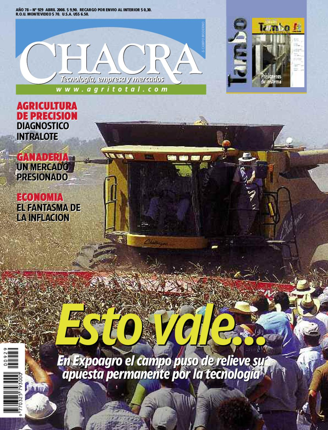 Revista Chacra Nº 929 - Abril 2008 by Revista Chacra - issuu bddc6d38882