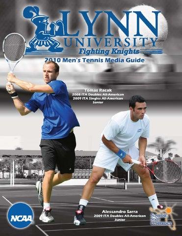 2010 Lynn University Men's Tennis Media Guide by Lynn