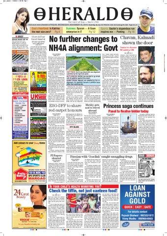 10 Nov,2010 HERALD PUBLICATIONS PVT LTD by Herald Publications - issuu