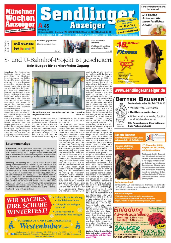 kw 45 2010 by wochenanzeiger medien gmbh issuu. Black Bedroom Furniture Sets. Home Design Ideas