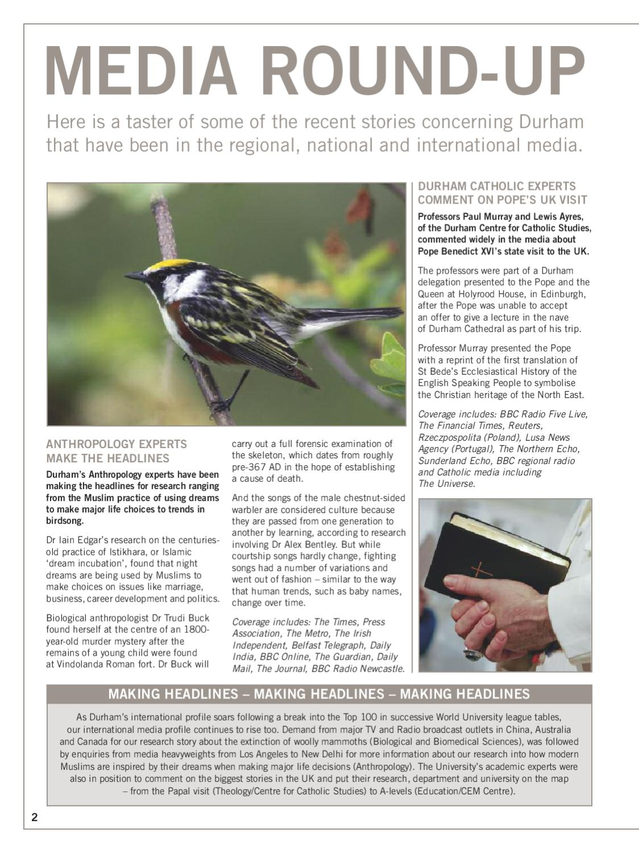 Dialogue Magazine - Issue 14 by Durham University - issuu
