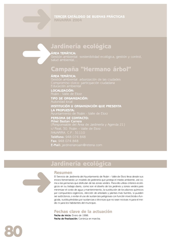 Jardineria ecologica noain by ecourbano es issuu for Jardineria ecologica