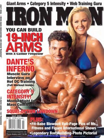 JULY 2006 / IRON MAN MAGAZINE—WE KNOW TRAINING™