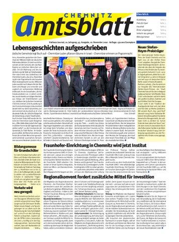Amtsblatt Chemnitz By Page Pro Media Gmbh Issuu