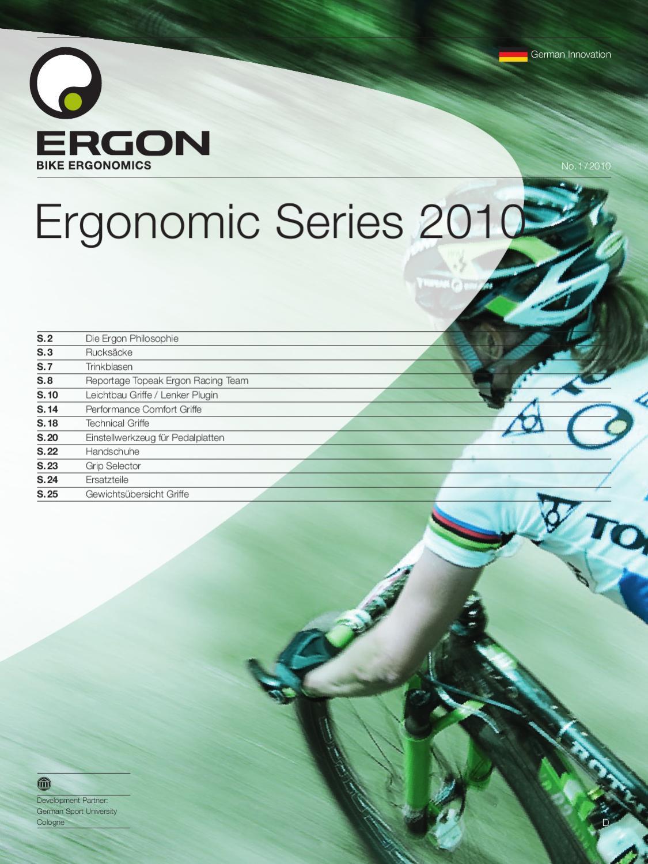 Ergon HT1-M Fahrrad Handschuhe Touring Sport Freizeit Touren f Griffe konzipier