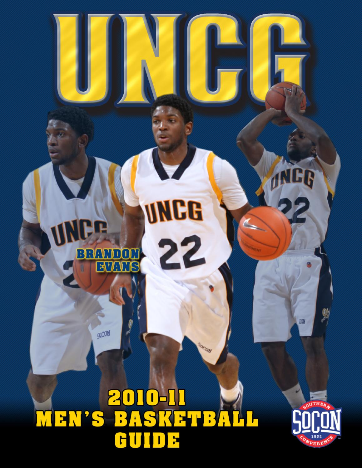 2010-11 UNCG Men s Basketball Guide by UNCG Athletics - issuu 78199c8c8