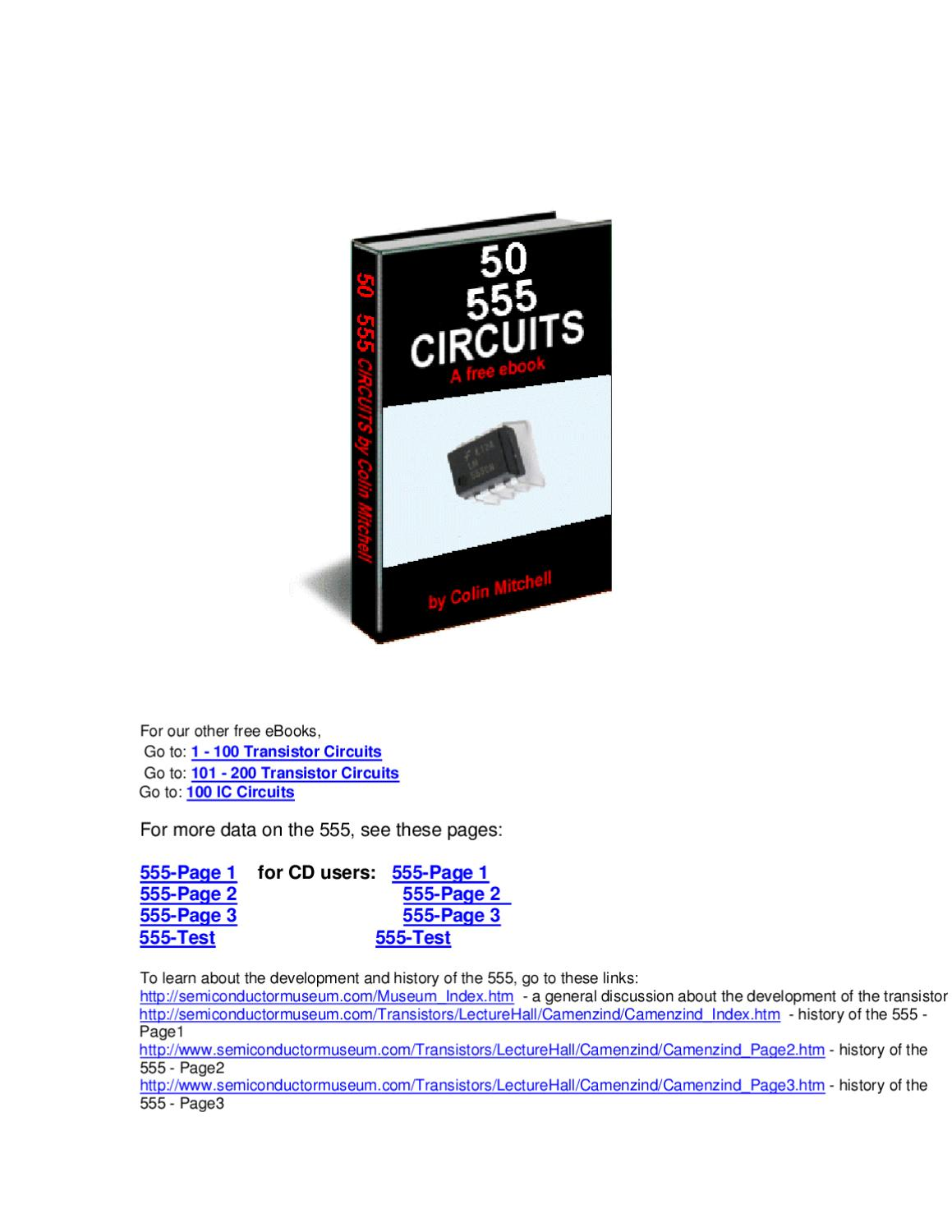 555 Circuits By Matias Silvestrini Issuu 555timer Alternating Blinking Led Circuit Issue