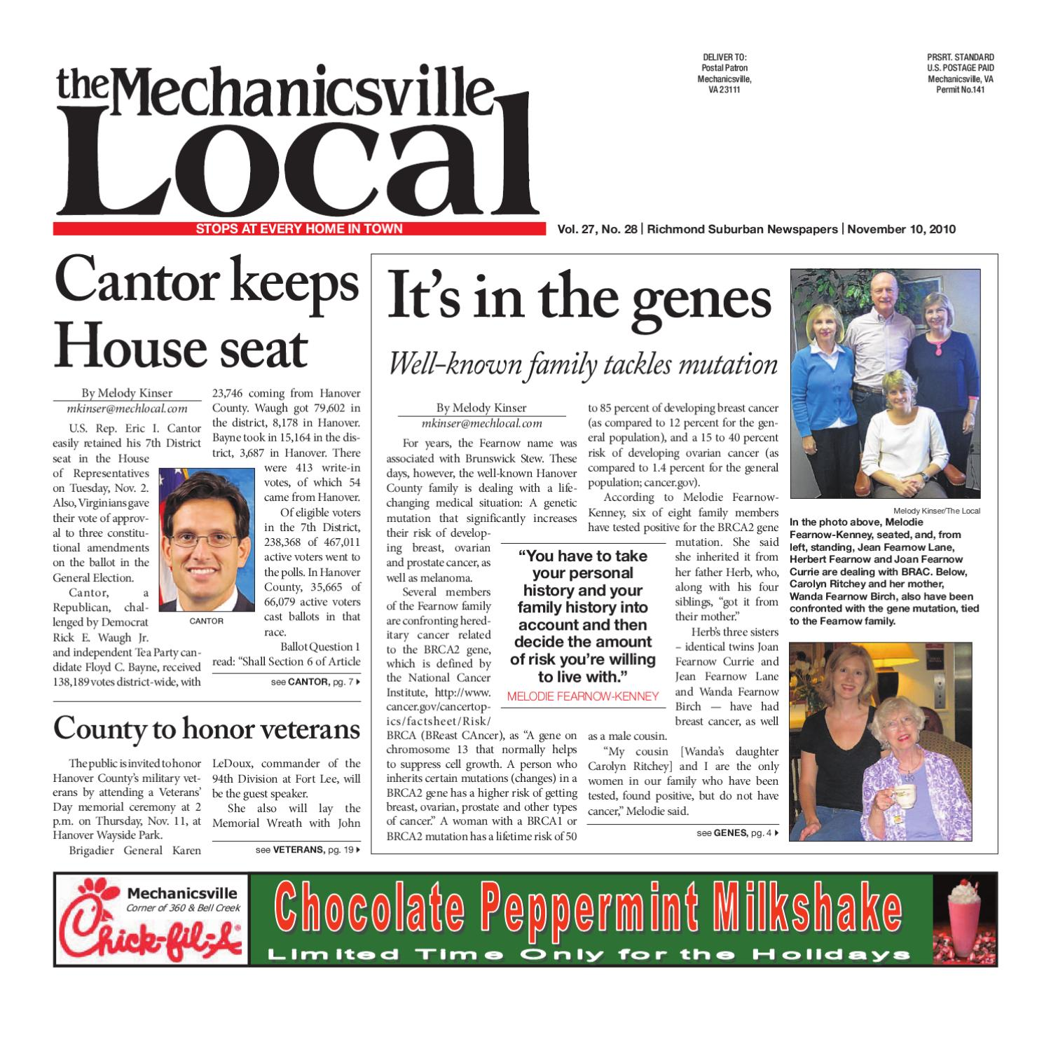 11/10/2010 by The Mechanicsville Local - issuu