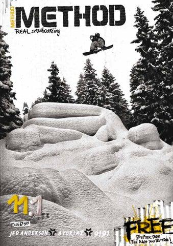 92ce530caf2 11.1 English Method Snowboard Magazine by Method Snowboard Magazine ...