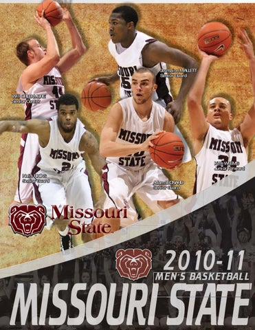 ce5a5563ddf8 2010-11 Missouri State Men s Basketball Guide by Missouri State ...