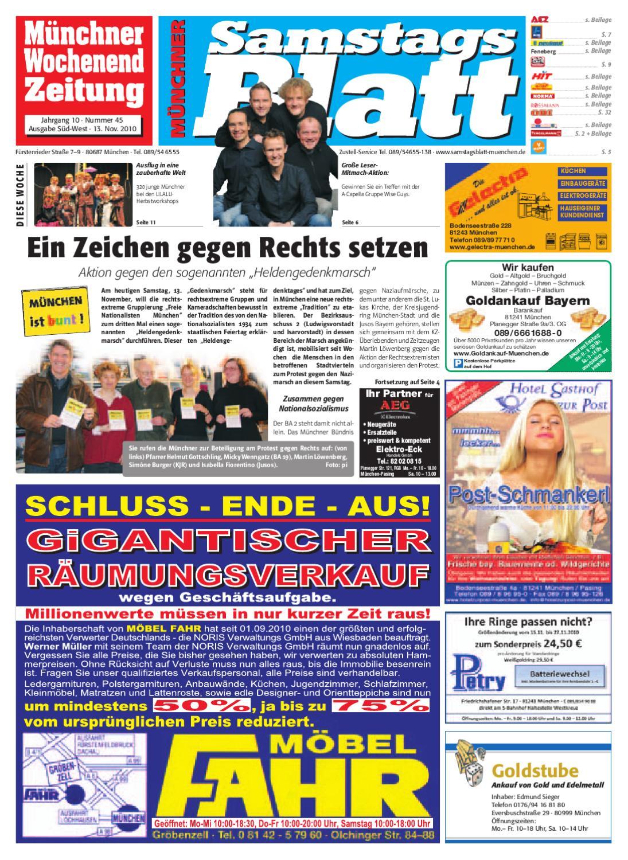 KW 45-2010 by Wochenanzeiger Medien GmbH - issuu