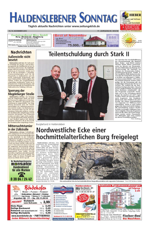 Haldenslebener Sonntag by Peter Domnick - issuu