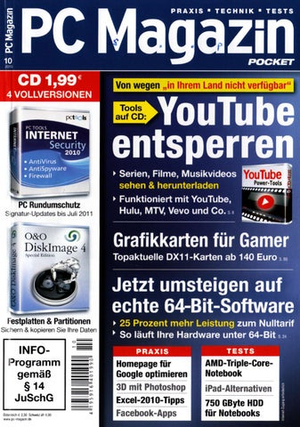 PC Magazin 10-2010 by Marcel Stephan - issuu