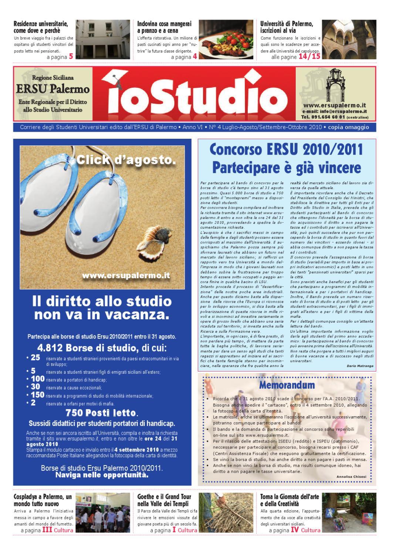 Io Studio N 4 Anno 2010 By Iostudio Ersu Palermo Issuu