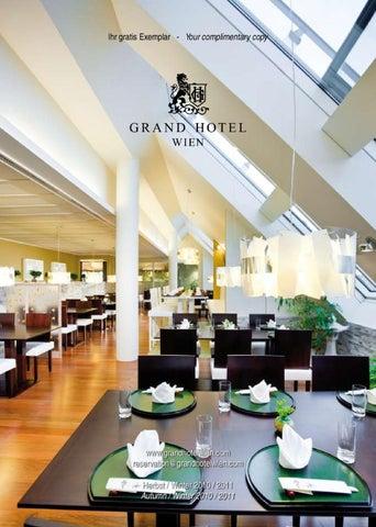 Grand Hotel Wien Magazin By Grand Hotel Wien Issuu