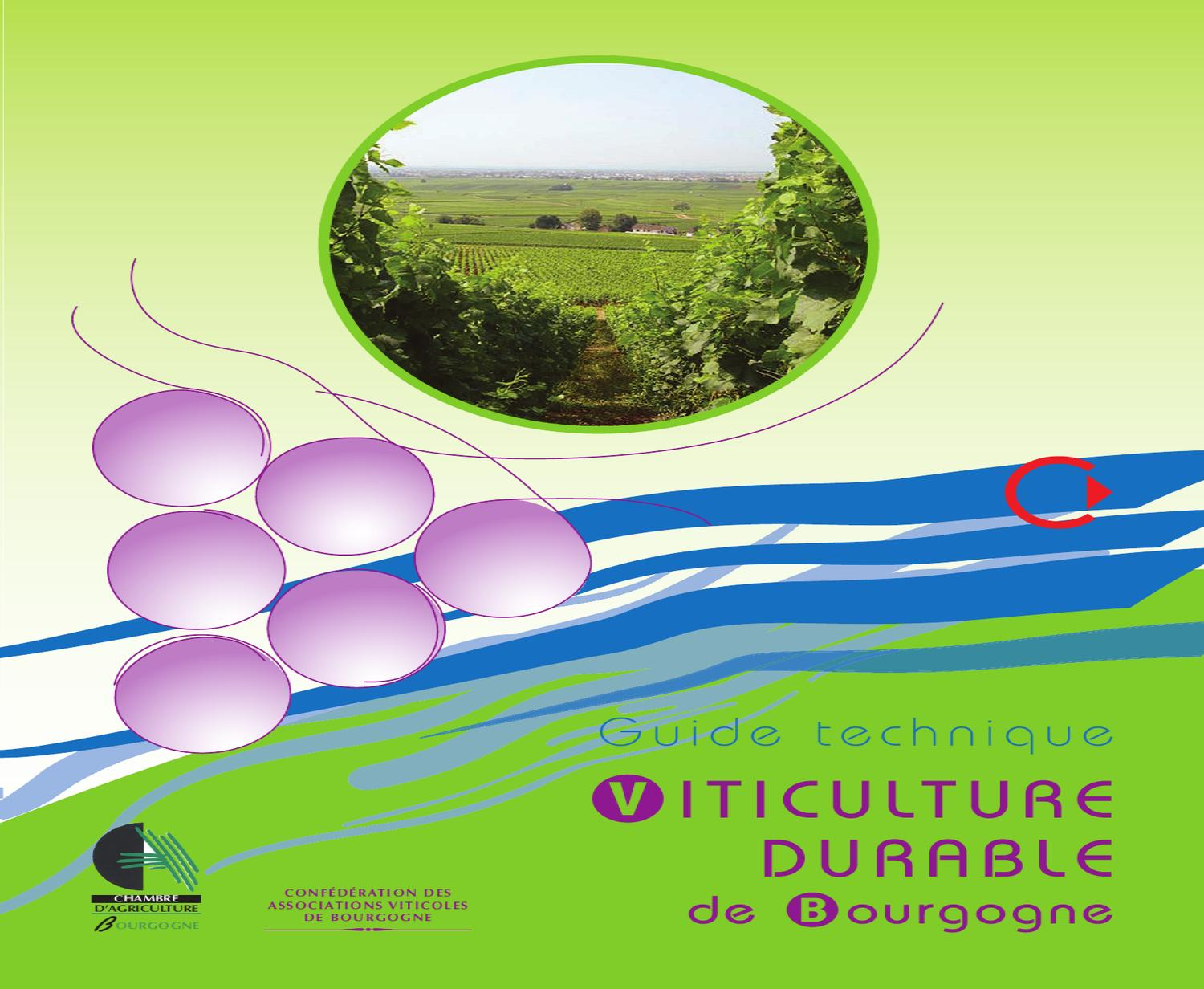 Guide technique viticulture durable de bourgogne by - Chambre d agriculture 43 ...