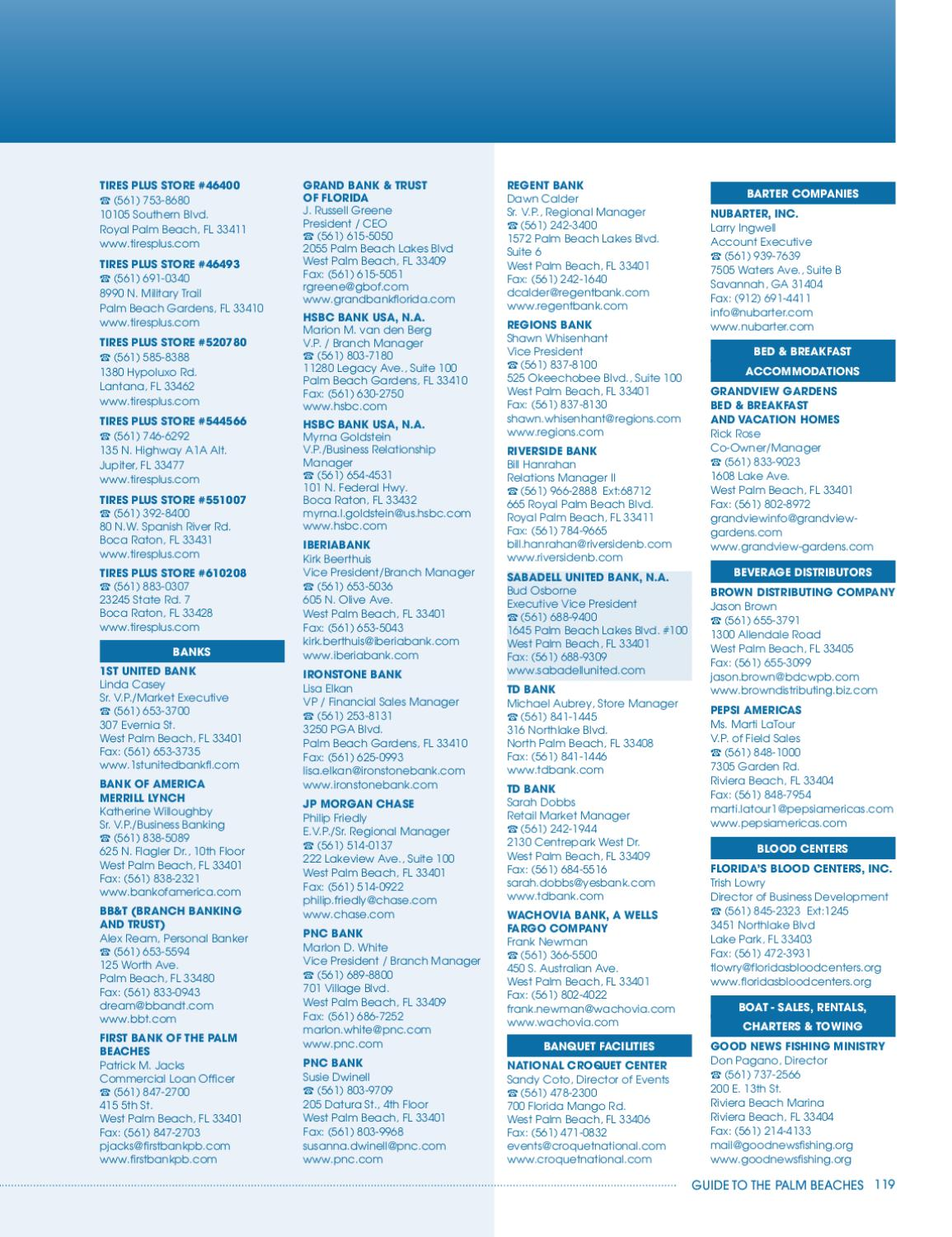 2011 Guide to the Palm Beaches by Chamber of Commerce of the