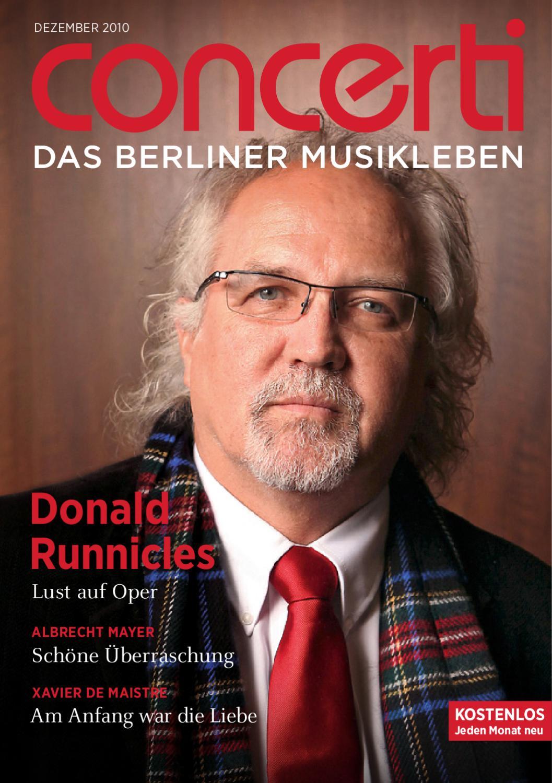 concerti - Das Berliner Musikleben Dezember 2010 by concerti - Das ...
