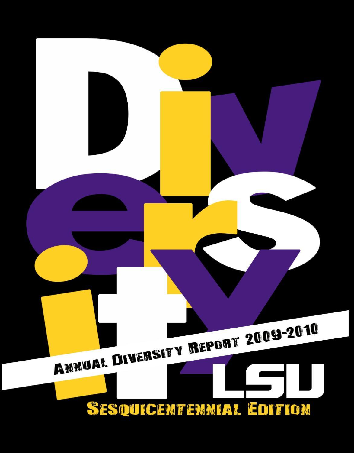 LSU Annual Diversity Report 2009-10 by LSU Foundation - issuu