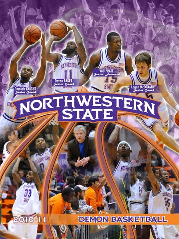 2010-11 Demon Basketball media guide by Northwestern State Athletics ... 5a0ace98e