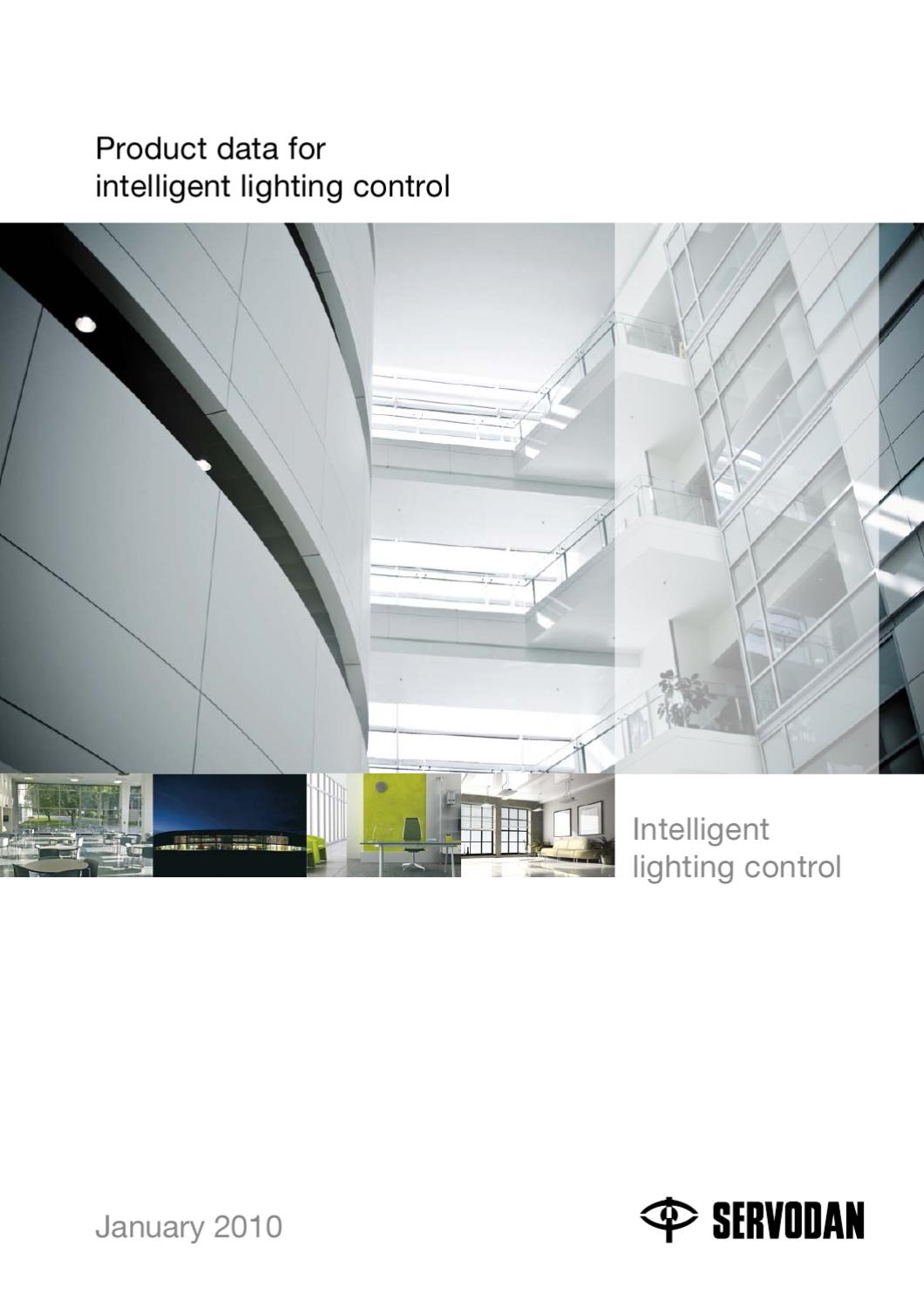 Product Data For Intelligent Lighting Control By Servodan A S Issuu Use Relay Or Smart Switch With The 45 Watt Higher Halogen Lights