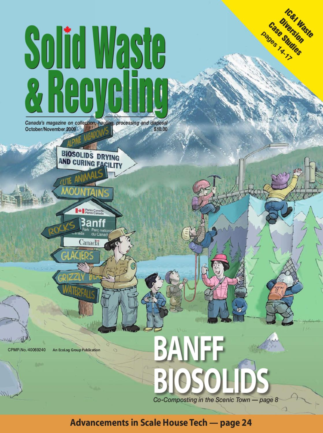 Solid Waste & Recycling October/November 2009 by Annex-Newcom LP - issuu