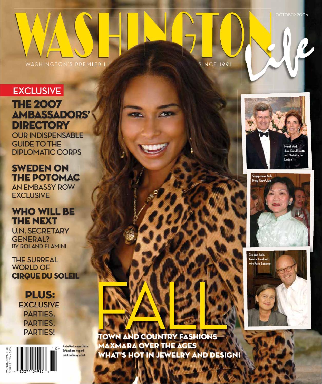 Washington Life Magazine October 2006 By Nicholas Keith Ralph 36mm Date Nk8003 Issuu