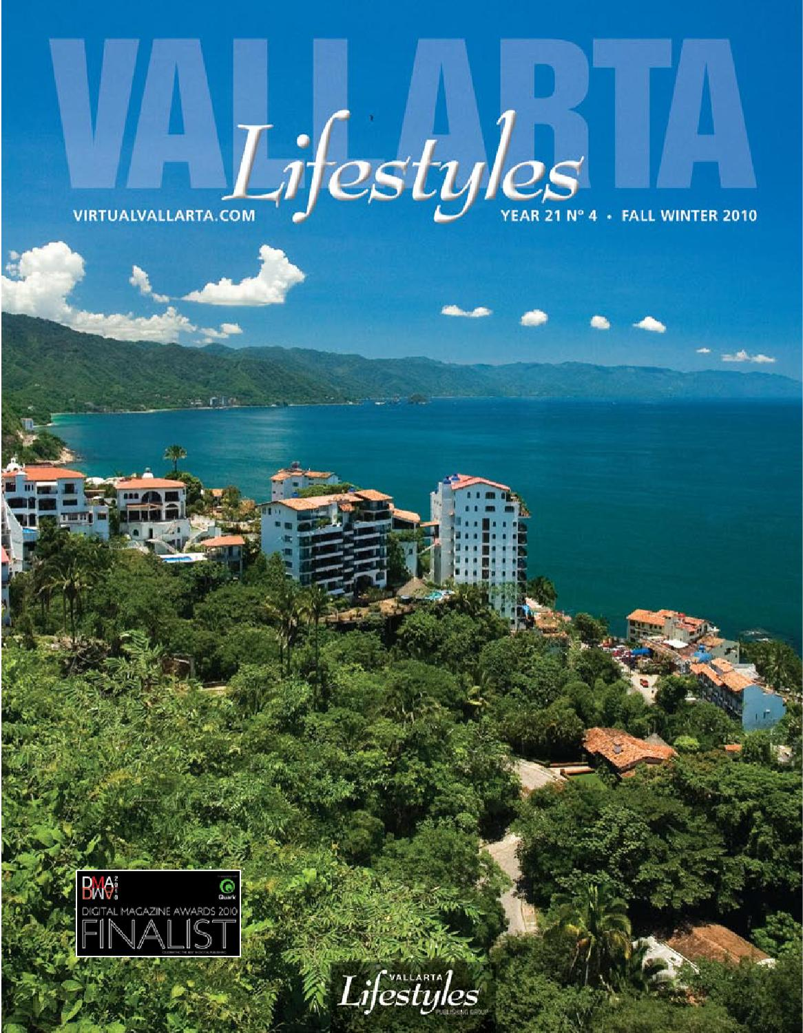 Vallarta Lifestyles Fall Winter 2010 By Vallarta Lifestyles  # Muebles Pitillal