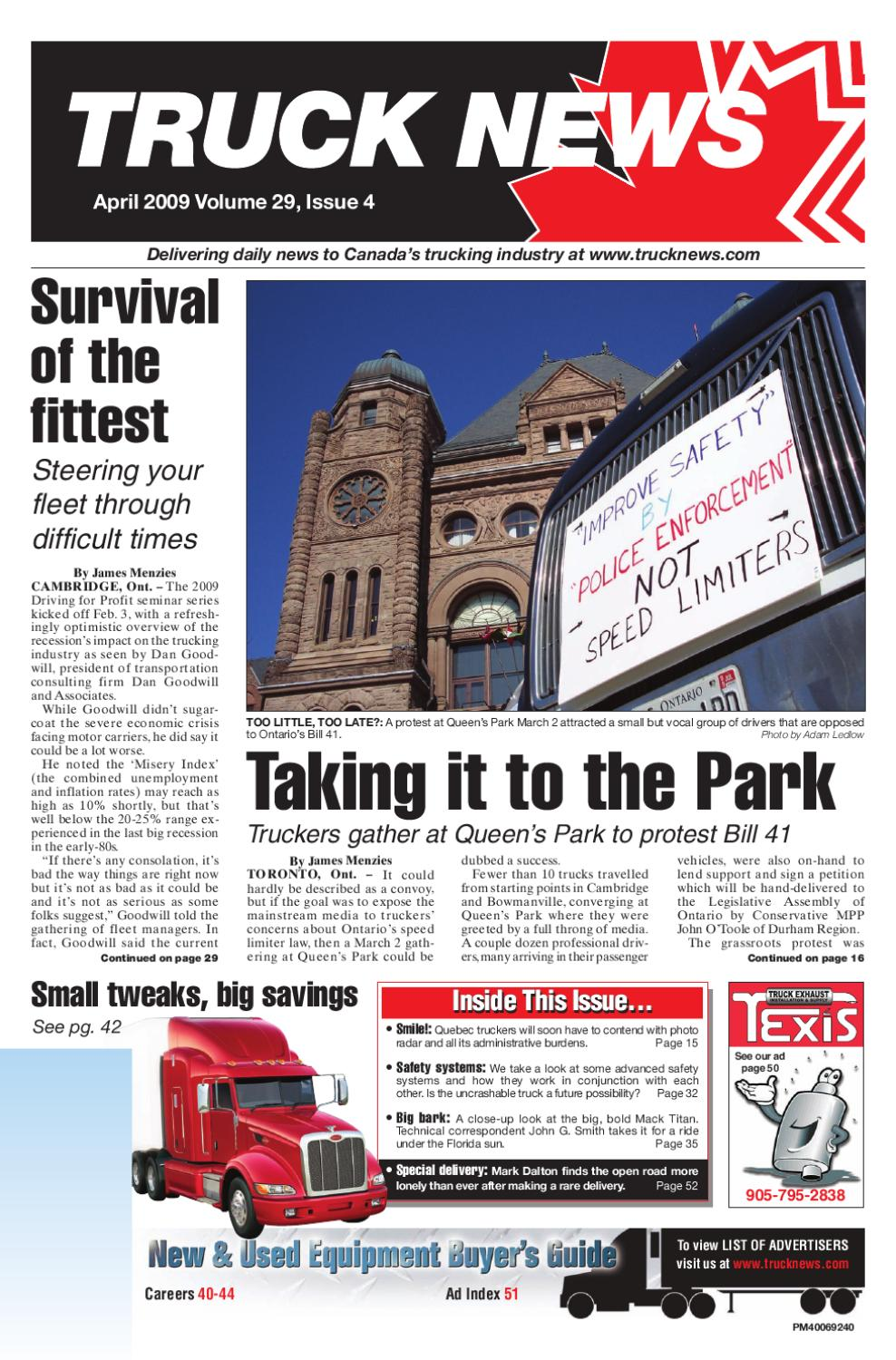 Truck News April 2009 by Annex Business Media - issuu