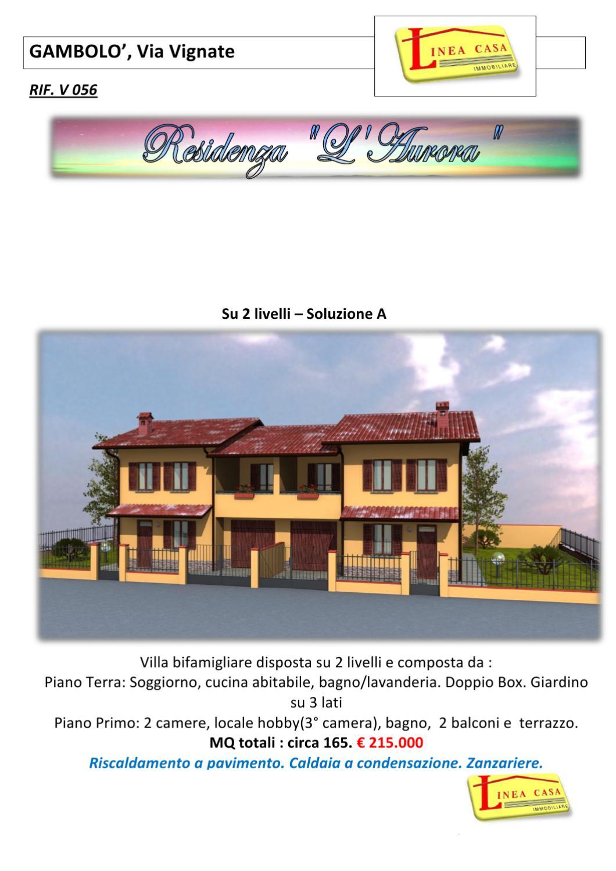 V056 2 Livelli Scheda Tecnica By Linea Casa Immobiliare Issuu