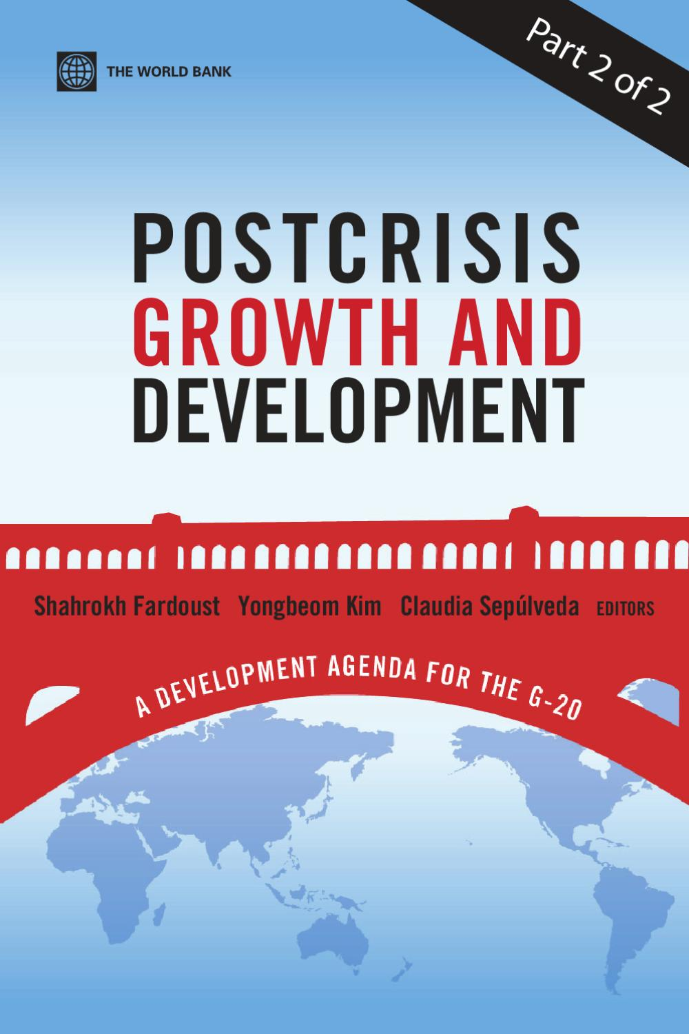 Postcrisis Growth and Development: A Development Agenda for the G-20