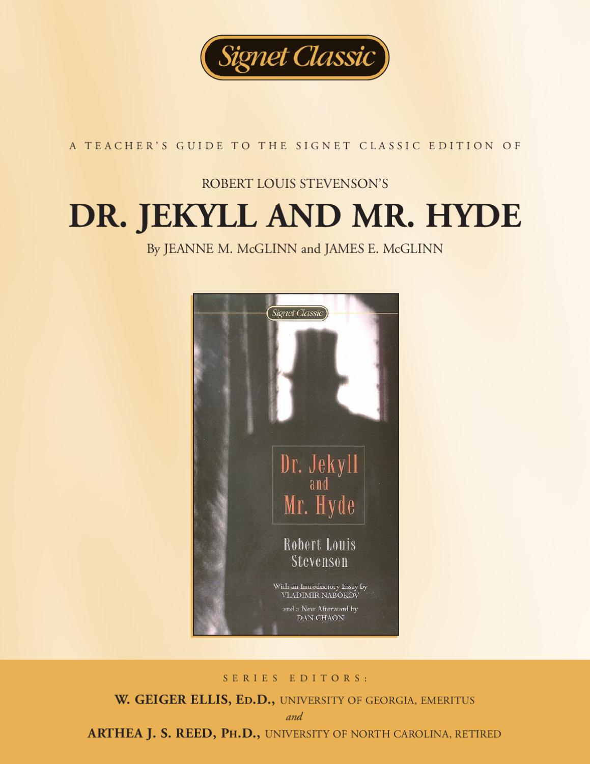 books to compare to dr jekyll and mr hyde