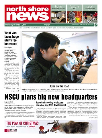North Shore News November 17 2010 by Postmedia Community