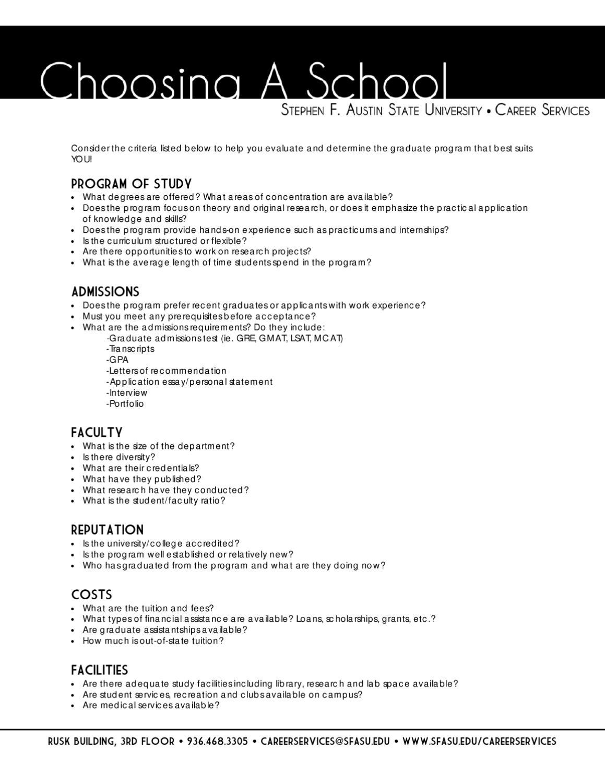 sfa gpa requirements
