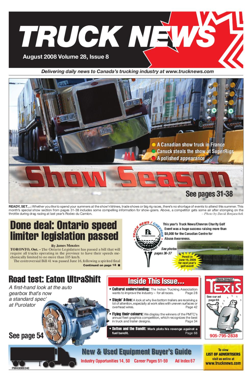 Truck News August 2008 by Annex Business Media - issuu