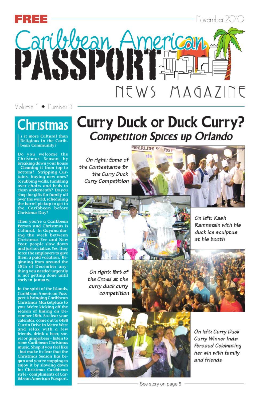 November Issue by caribbeanamericanpassport - issuu