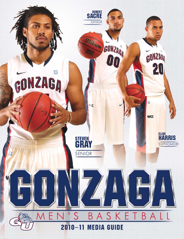 best cheap 1ce6c 49a74 GU 2010-11 men s basketball media guide by Gonzaga University Athletics -  issuu
