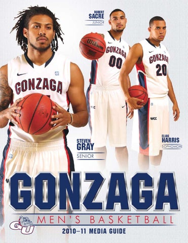 finest selection 222ae 066bb GU 2010-11 men s basketball media guide by Gonzaga University ...