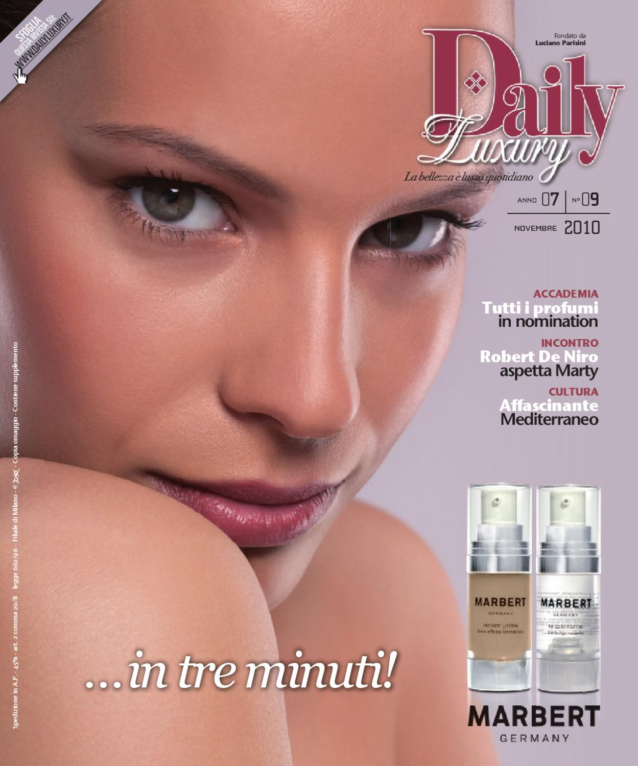 DAILY LUXURY • n.9 novembre 2010 by DAILY LUXURY - issuu 84ff0a9c8107