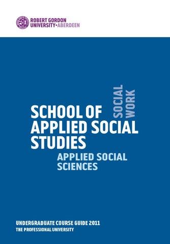 Applied Social Studies UG Guide