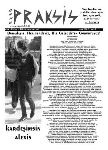 Genc Praksis Gazetesi 7 Sayi By Sol Yayin Issuu