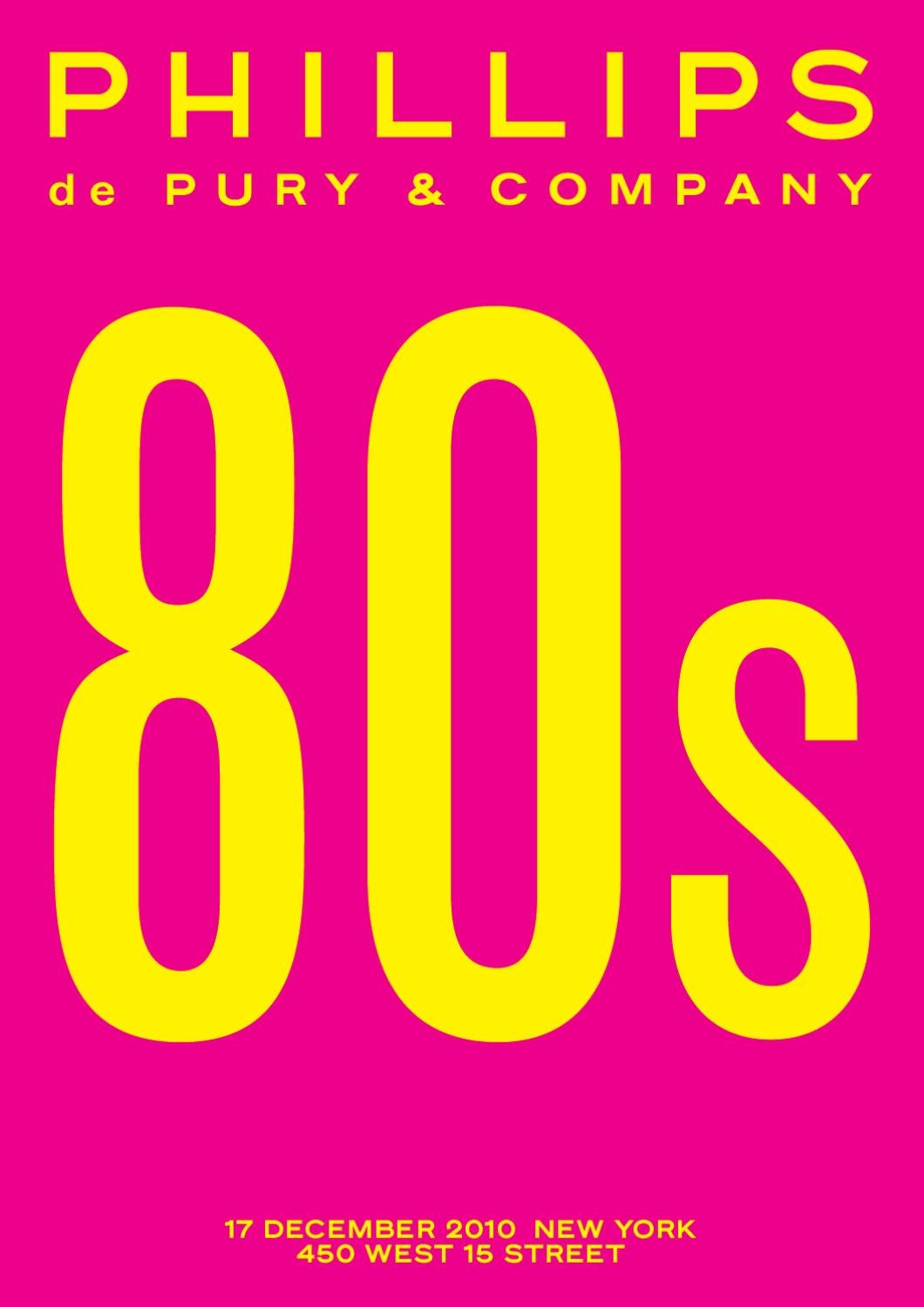 80s NY by Phillips de Pury & Co. - issuu