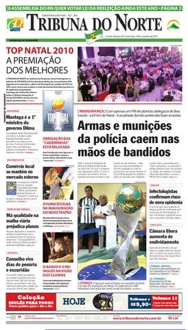 Tribuna do Norte - 19 11 2010 by Empresa Jornalística Tribuna do ... ba59e7c61db