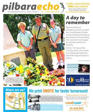 Pilbara Echo 13 - 14 November 2010 by Pilbara Echo Newspaper - issuu 64fcf7704a60e