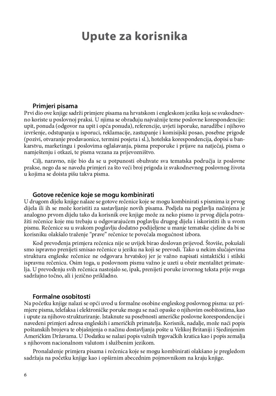 Poslovno dopisivanje by Darija Vuković - Issuu